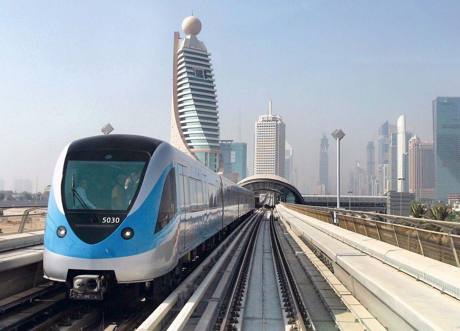 Наземное метро Дубай
