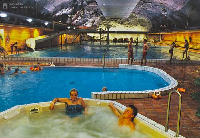 Оздоровительный комплекс Намсу в Норвегии
