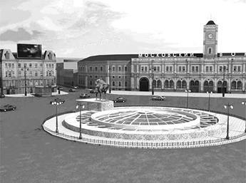 Проект подземного торгового центра на площади Восстания