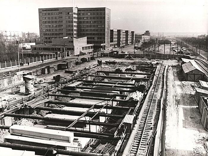 Строительство горьковского метро 1985—1988 годы