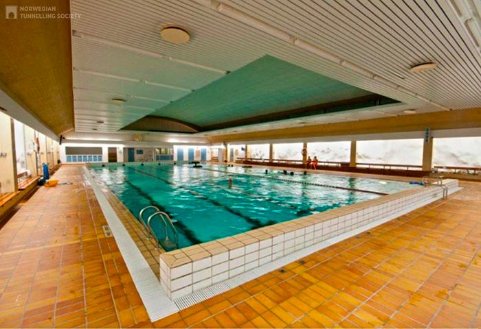 Плавательный бассейн Holmlia в Осло