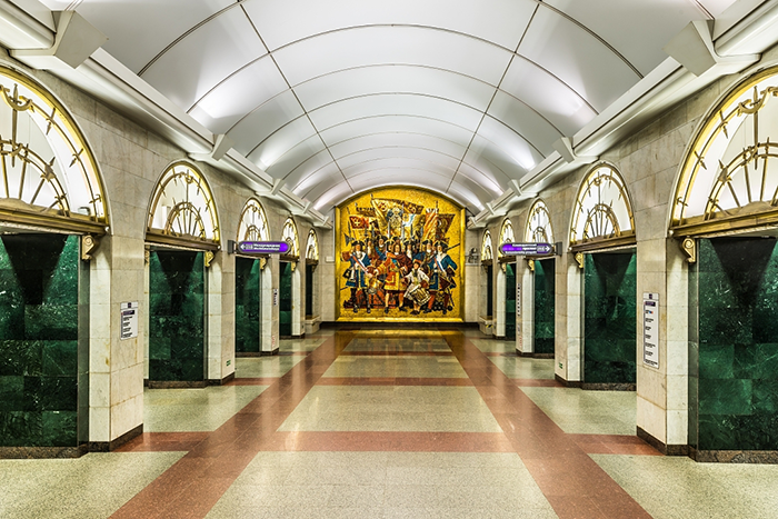Станция метро Звенигорордская
