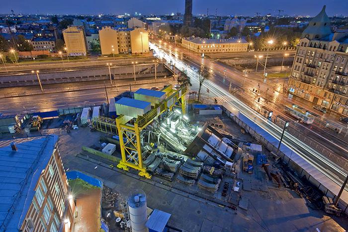 Строительство - Обводный канал
