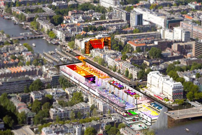 Проект устройства подземного пространства в Амстердаме