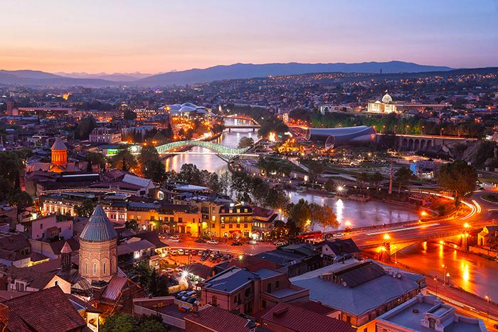 город Тбилиси - Грузия
