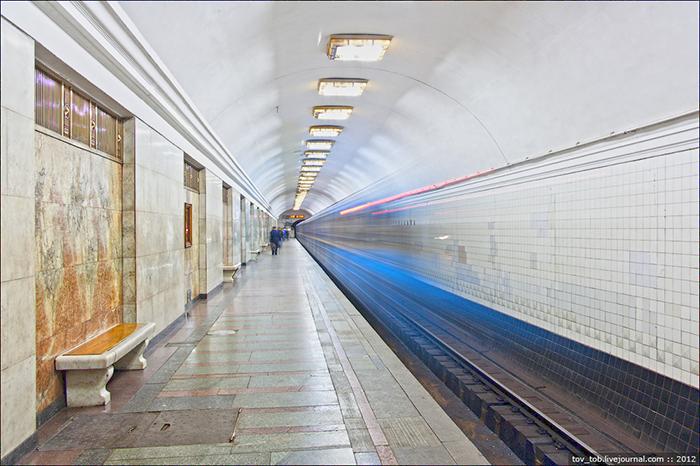 Станция Арсенальная, Киев