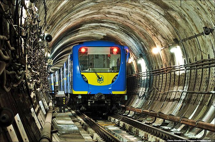 Подвижной состав киевского метро