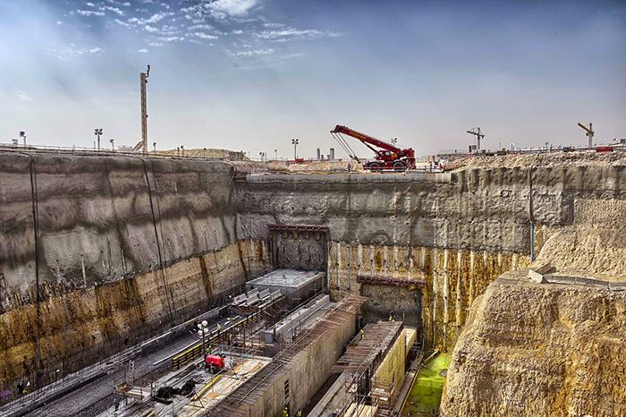 Строительство зеленой линии в Дохе