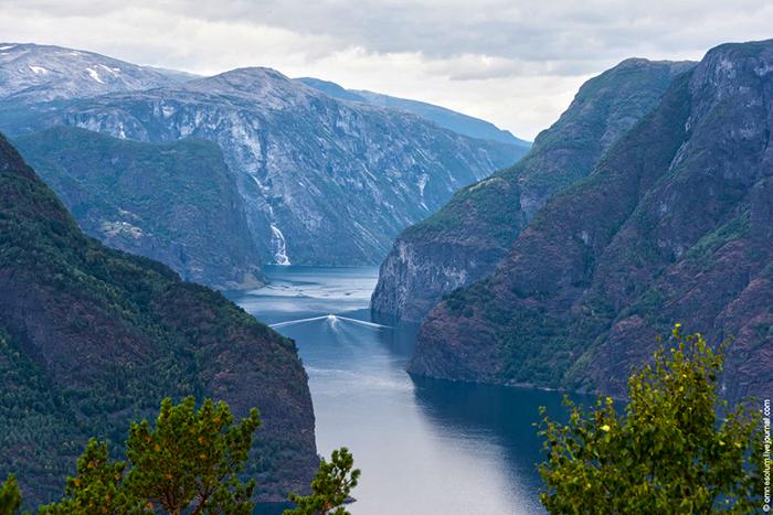 Фьорды и горы Норвегии