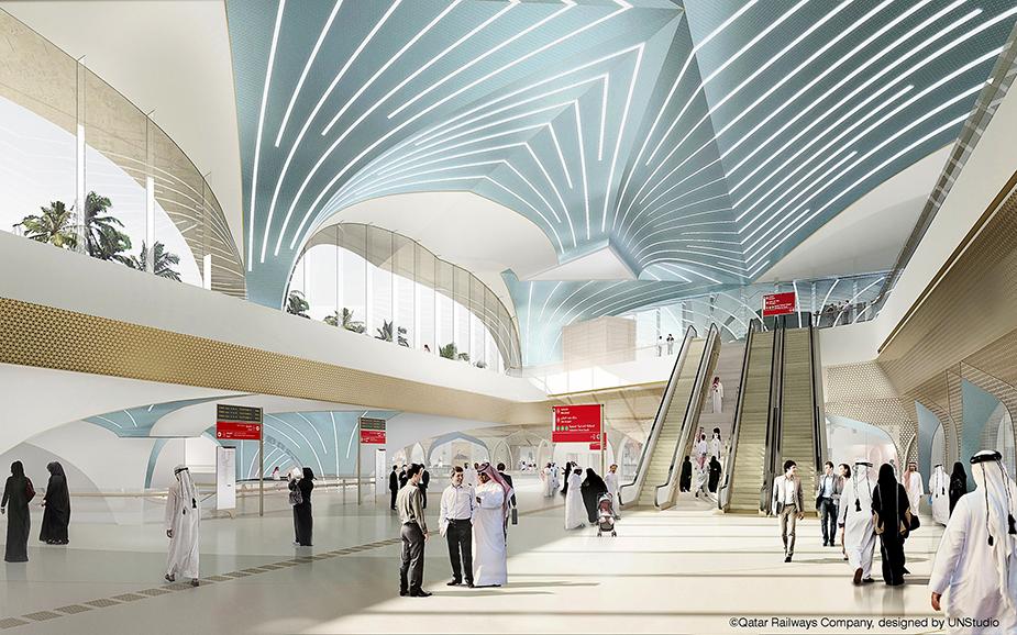 Концепция проекта Qatar Integrated Railway Project (QIRP) - строительства новых станций метро в Дохе