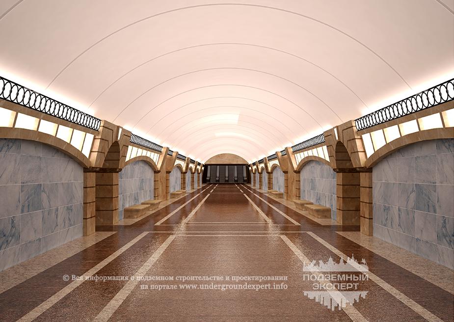 Станция метро Большой проспект