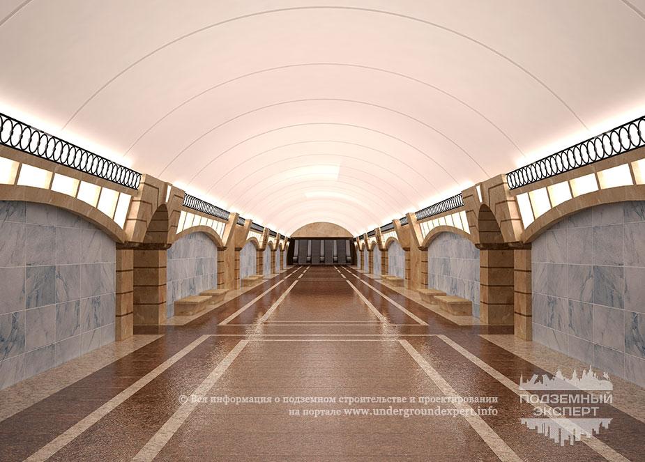 Станция метро «Большой проспект»