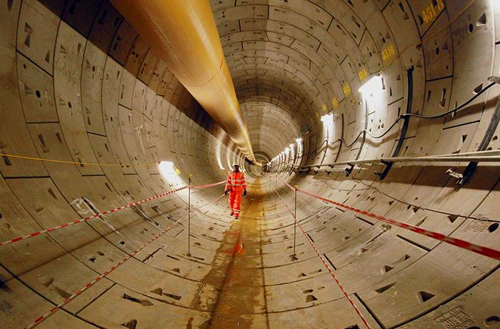 Тоннель Кроссрейл, Лондон
