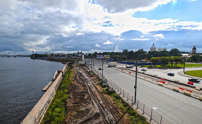 Реконструкция синопской набережной