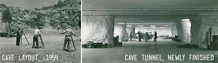 Строительство подземного завода в Канзас-Сити