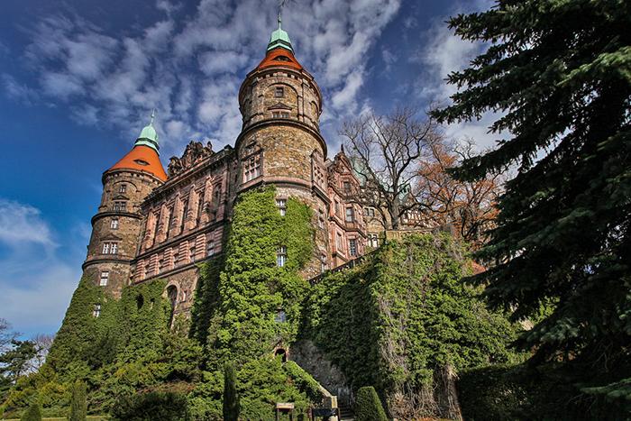 Książ Castle in Poland