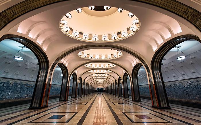 метро Маяковская