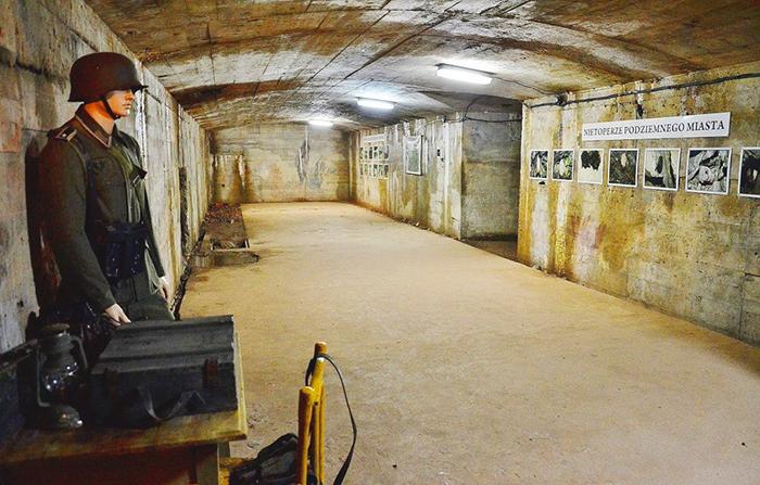 Underground museum complex Osowka, Poland
