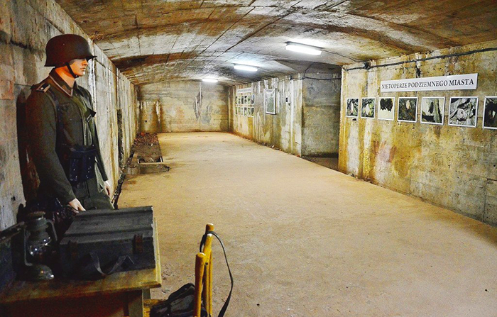 Подземный город Osowka