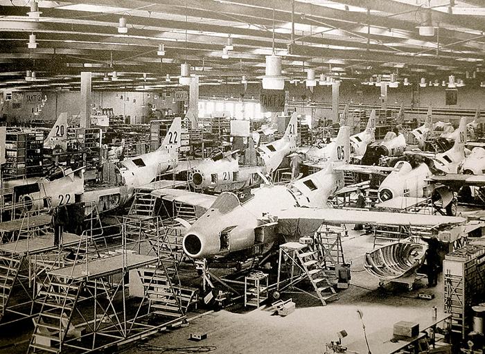 Underground factory SAAB Aircraft