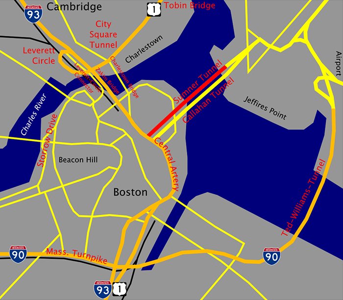 Большой Бостонский тоннель - Big Dig