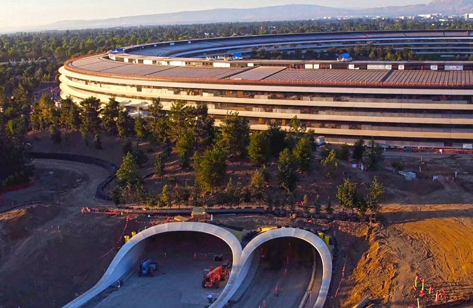 Apple Campus construction