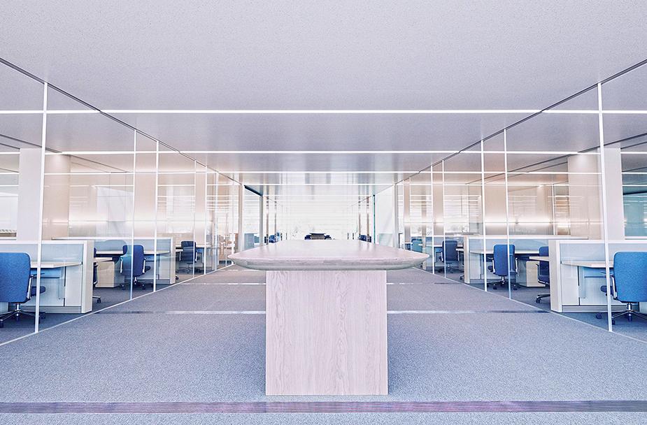 Офисное пространство в Кампусе Apple