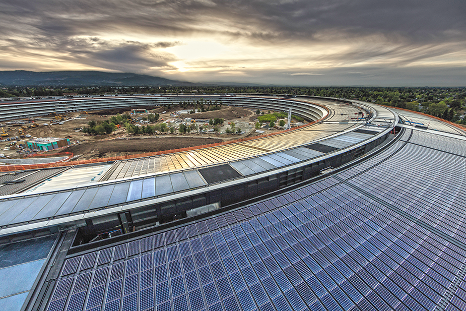 The roof - Apple Park