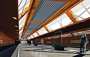 Проект станции метро Сенная в Нижнем Новгороде