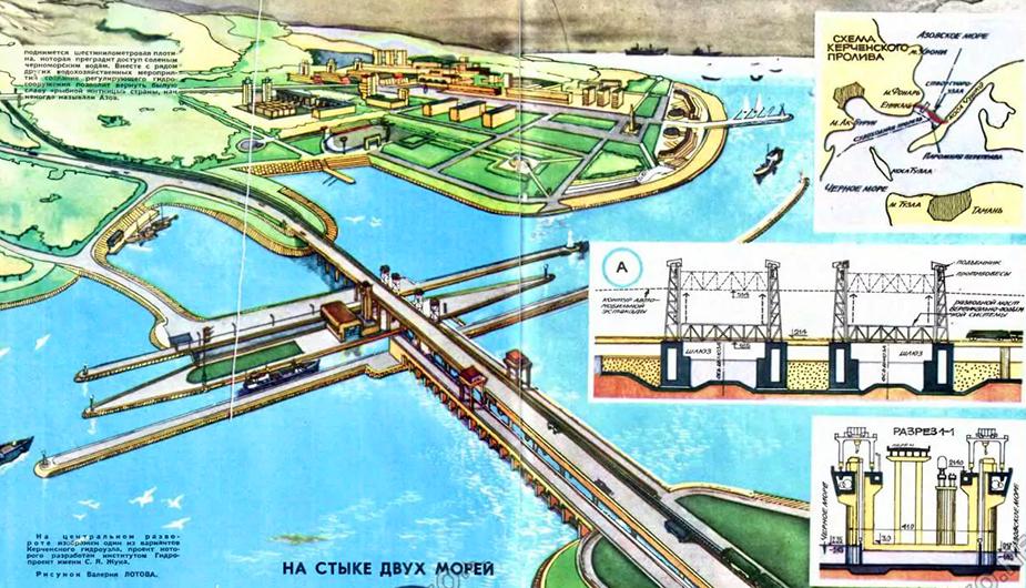 Проект керченского гидроузла