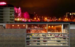 Проект подземного многофункционыльного комплекса в центре Амстердама