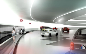 Проект подземного паркинга в Китае