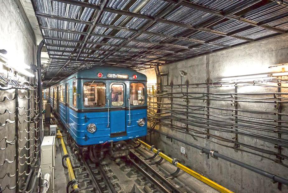 Поезд на станции Котельники