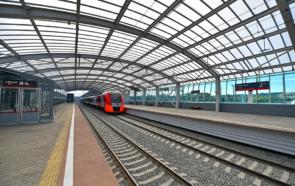 Станция Лужники в Москве