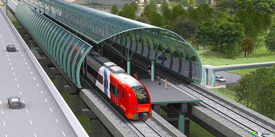 Проект наземного метро в Спб