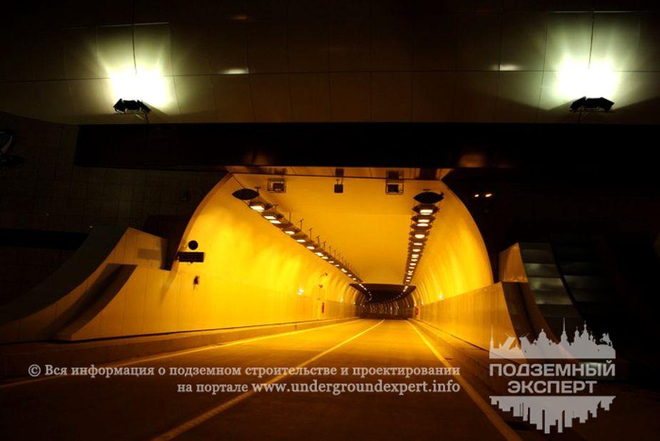 Тоннель №6 автодороги Джубга – Сочи