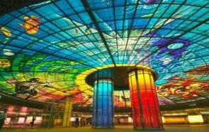 Станция Formosa Boulevard в городе Гаосюн (о. Тайвань)