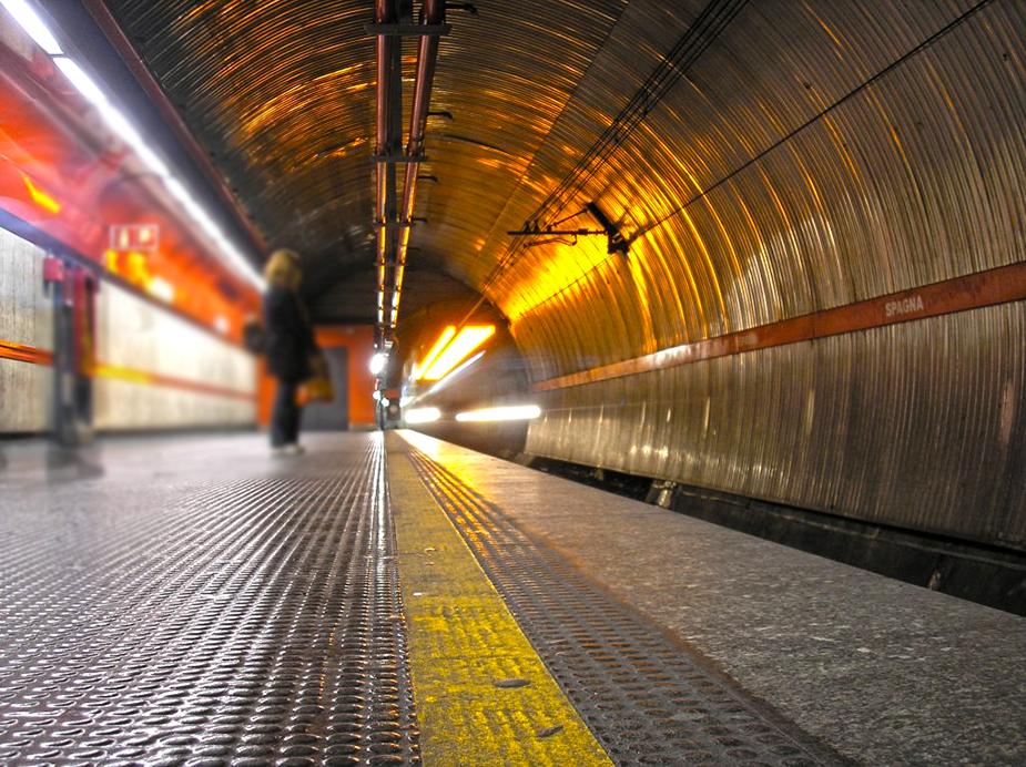 rome métro map