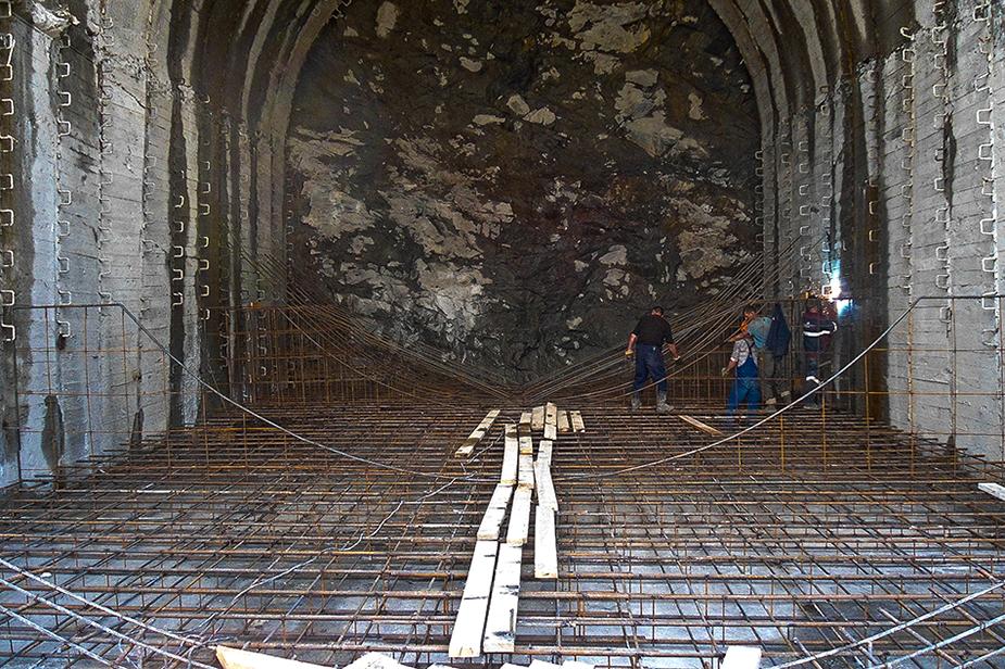 Строительство тоннеля БАМа