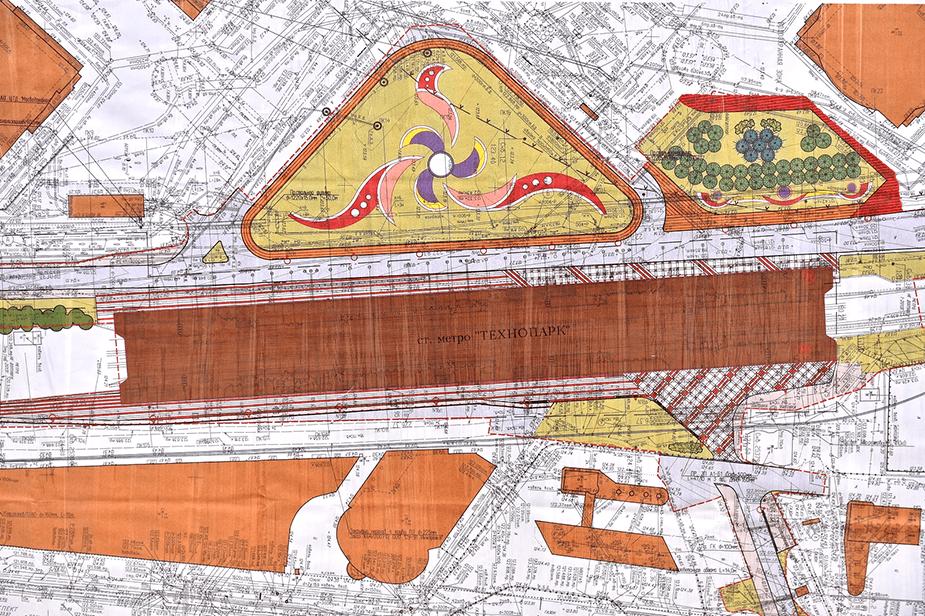 Проект строительства станции метро «Технопарк» в Москве