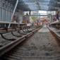 Строительство станции метро «Технопарк»