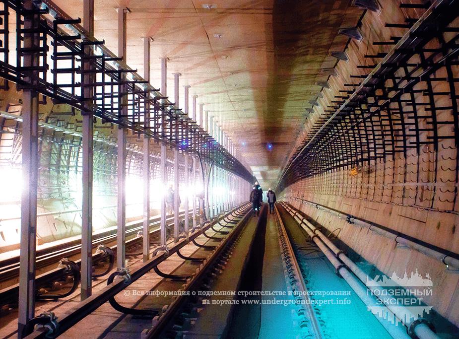 Двухпутный тоннель метро СПб