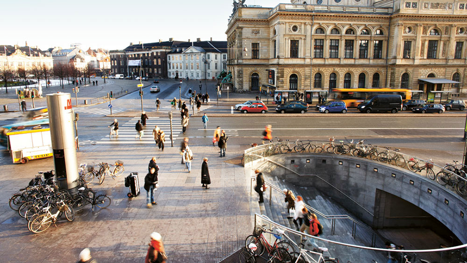 Метро Копенгагена