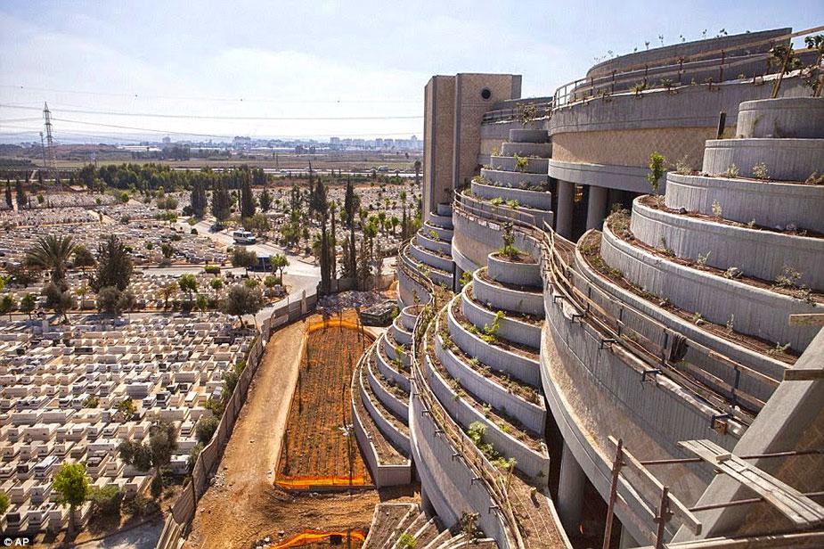 Cemetery in Israe