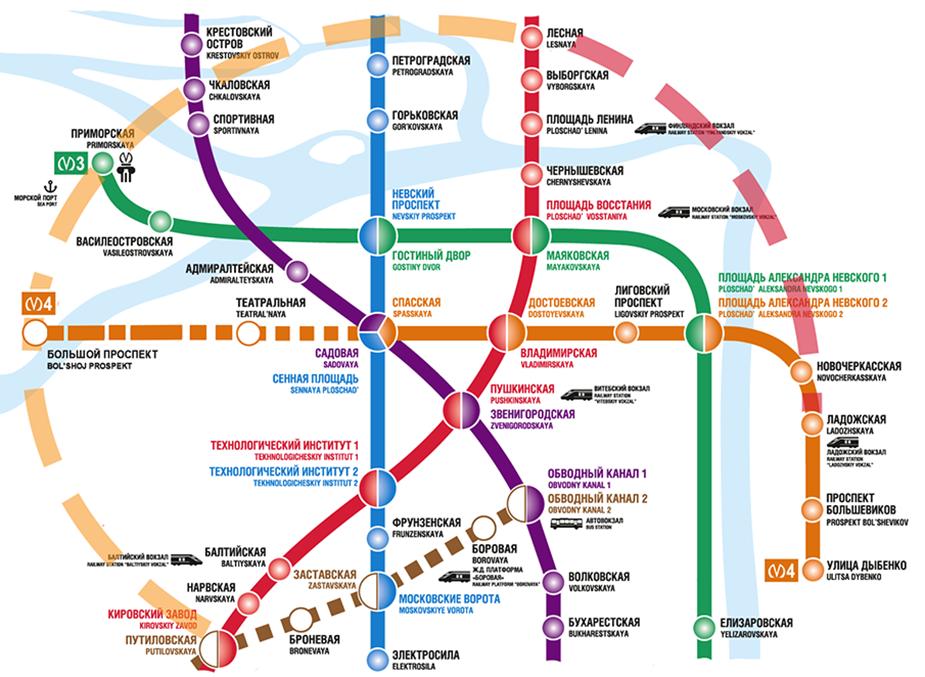 Кольцевая линия в метро Санкт-Петербурга