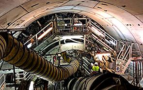 Строительство метро Барселоны