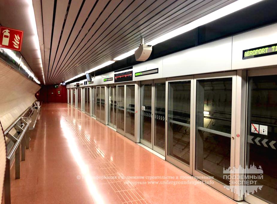 метро Барселоны