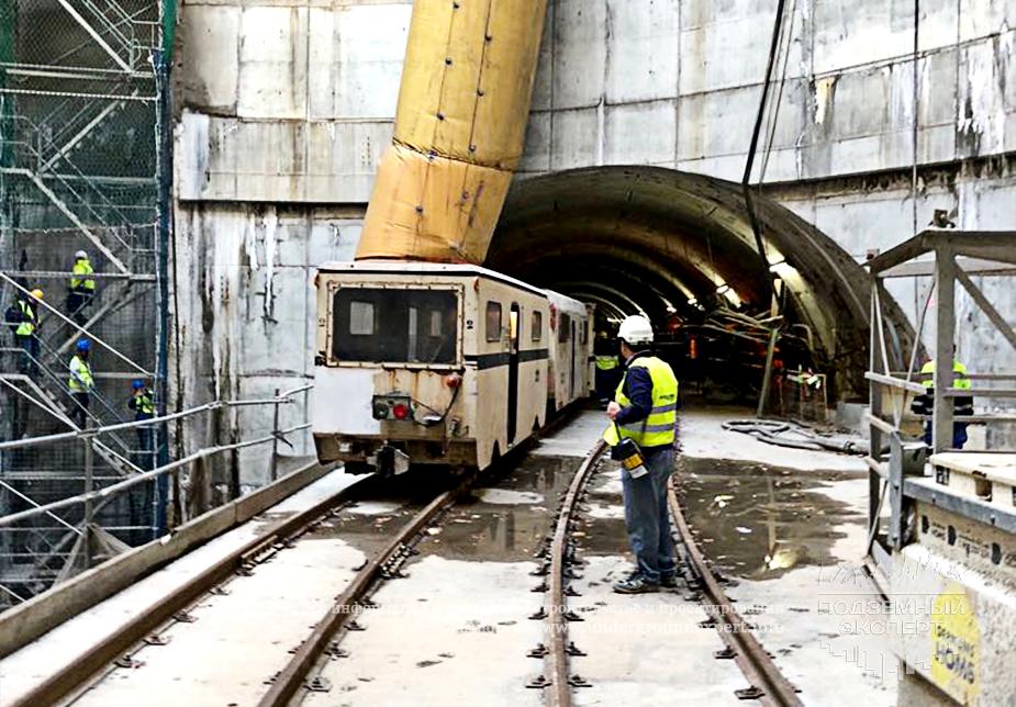 строительная площадка метро барселоны