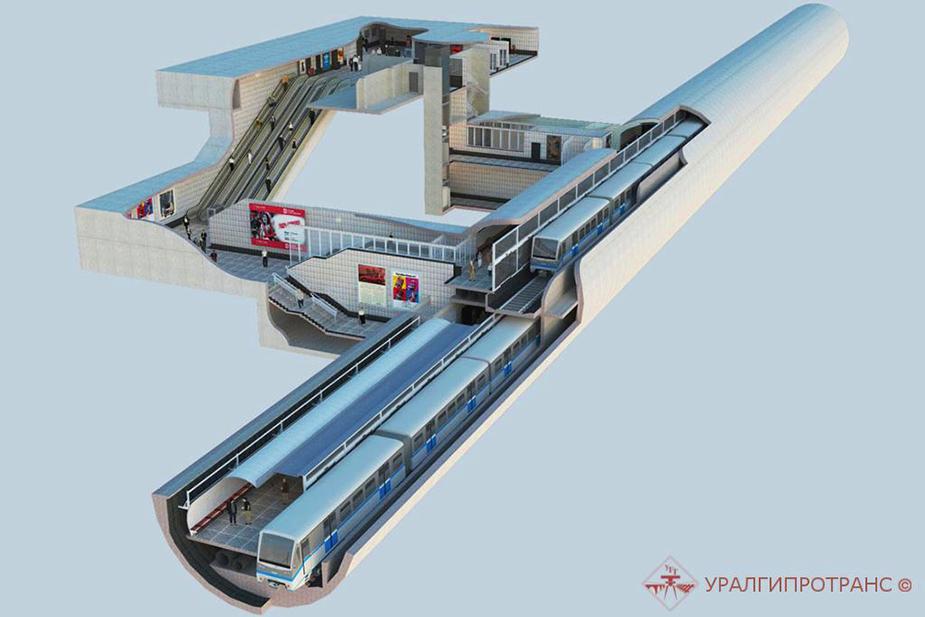 Вторая линия метро Екатеинбурга