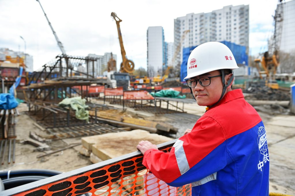 В Москву из Китая прибыли 350 инженеров